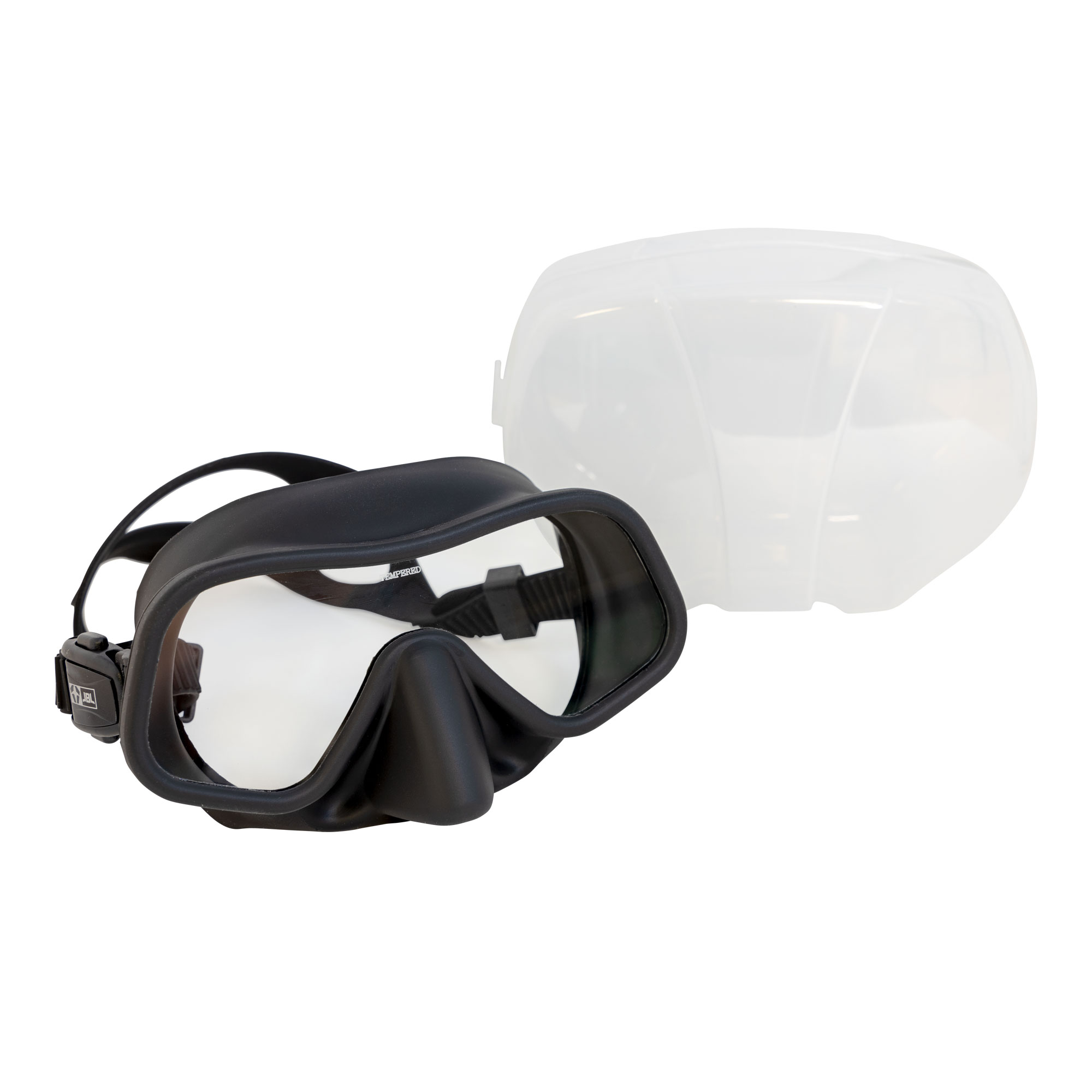 JBL The Seeker Frameless Low Volume Silicone Scuba Diving Mask